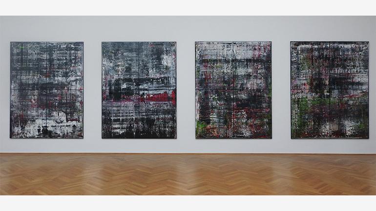 Gerhard Richter, Birkenau, 2014. Private collection. Photograph: Regine Mosimann