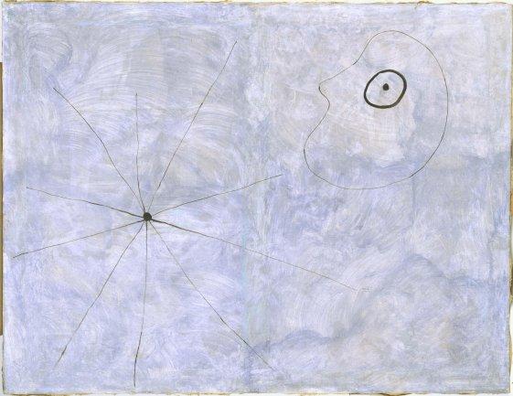 Joan Miró. Pintura (Cabeza y araña), 1925. Óleo sobre lienzo. Museo Nacional Centro de Arte Reina Sofía
