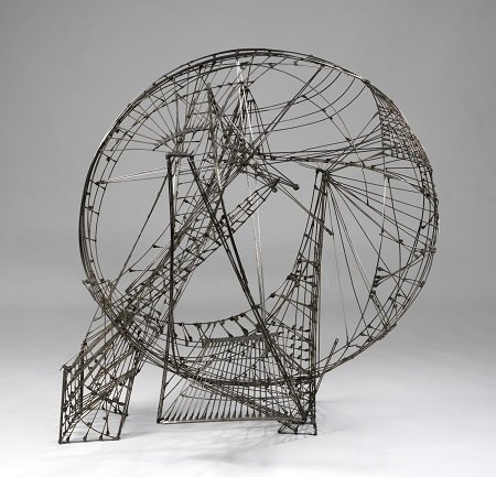 Constant Ruimtecircus, 1958. Alambre y cobre. Gemeentemuseum Den Haag © Constant, VEGAP, Madrid, 2015