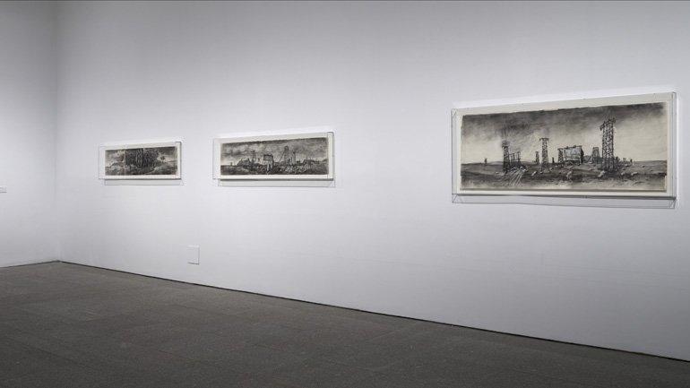 Vistas de la exposición William Kentridge. Basta y sobra