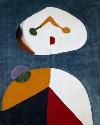 Joan Miró. Retrato II, 1938. Pintura. Colección Museo Nacional Centro de Arte Reina Sofía, Madrid
