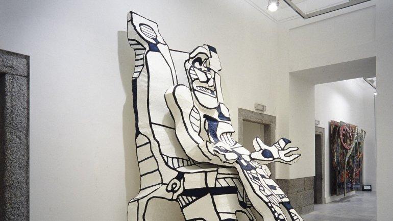 Vista de sala de la exposición. Un siglo de escultura moderna: La colección de Patsy y Raymond Nasher, 1988