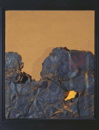Gustavo Torner. Ocre-Chatarra oxidada, 1961-62. Painting. Museo Nacional Centro de Arte Reina Sofía Collection, Madrid