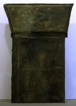 Julian Schnabel. Epitafio (L.S.J.T) (Panel tumba V), 1989. Sculpture. Museo Nacional Centro de Arte Reina Sofía Collection, Madrid