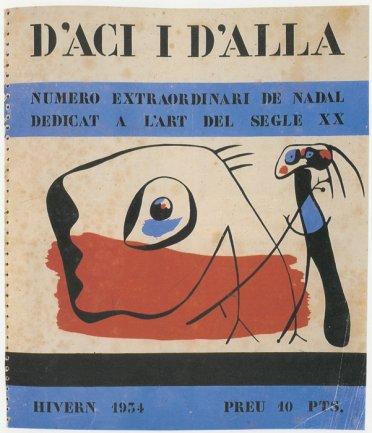 Revista D'aci i D'alla, 1934. Biblioteca y Centro de Documentación, Museo Nacional Centro de Arte Reina Sofía, Madrid