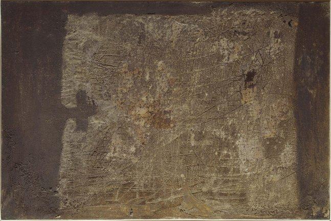 Antoni Tàpies. Pintura, 1955. Pintura. Colección Museo Nacional Centro de Arte Reina Sofía, Madrid