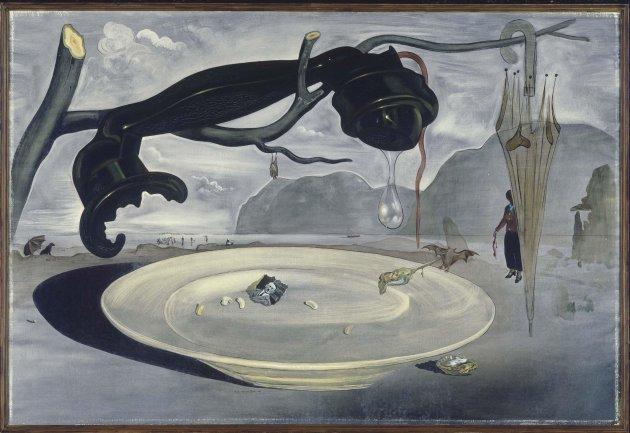Salvador Dalí. The Enigma of Hitler, 1939. Painting. Museo Nacional Centro de Arte Reina Sofía Collection, Madrid