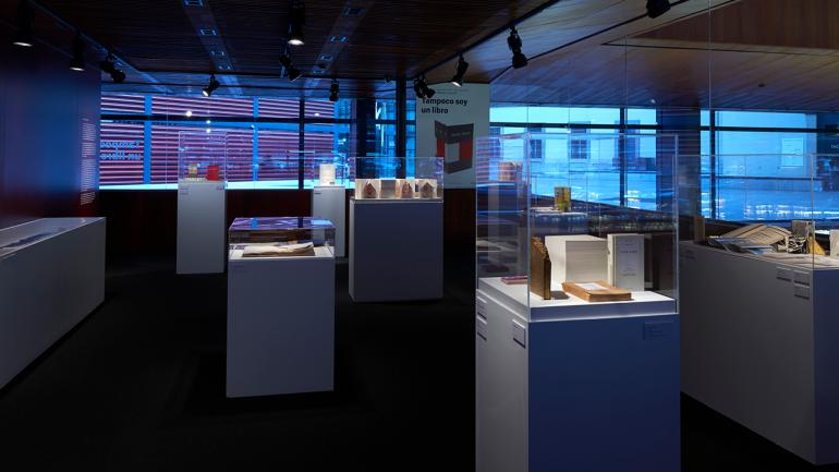 View of the exhibition I Am Also not a Book. Museo Nacional Centro de Arte Reina Sofía, 2016