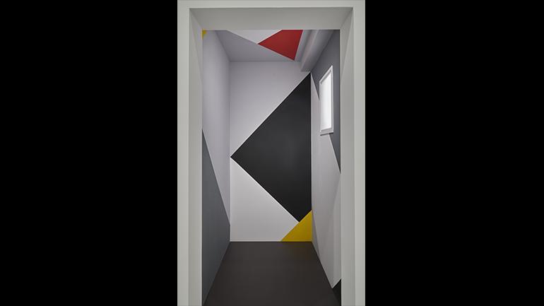 View of the exhibition Mondrian and De Stijl, 2020