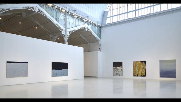 View of the exhibition Anna-Eva Bergman. From North to South, Rhythms