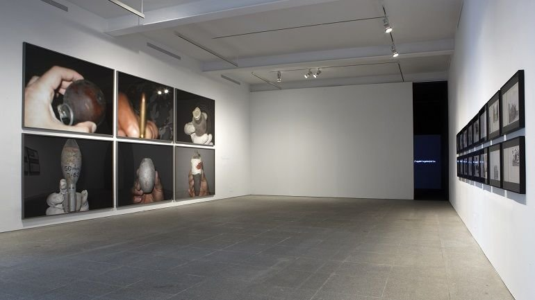 Exhibition view. The Atlas Group (1989-2004) A Project by Walid Raad, 2009