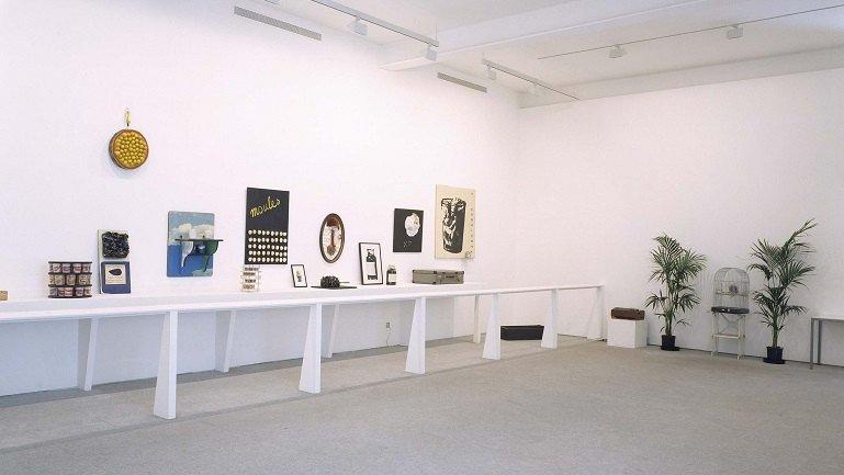 Exhibition view. Marcel Broodthaers, 1992