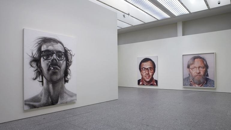 Exhibition view. Chuk Close. Paintings: 1968-2006, 2007