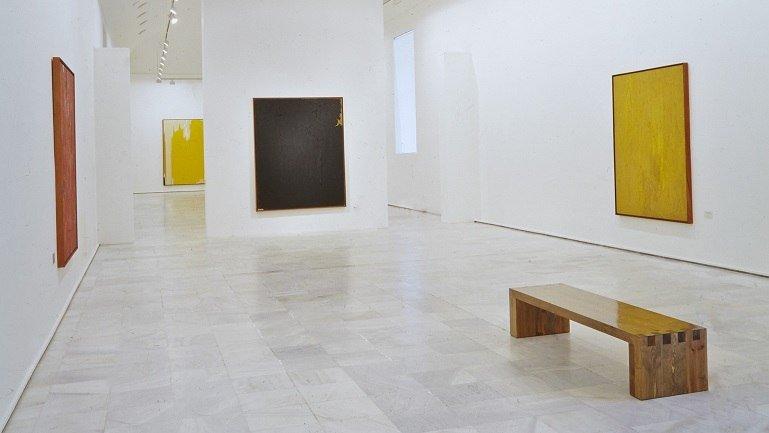 Vista de sala de la exposición. Clyfford Still (1904 – 1980), 1992