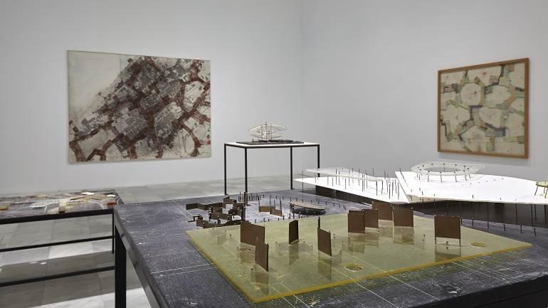 Exhibition view. Constant. New Babylon, 2015