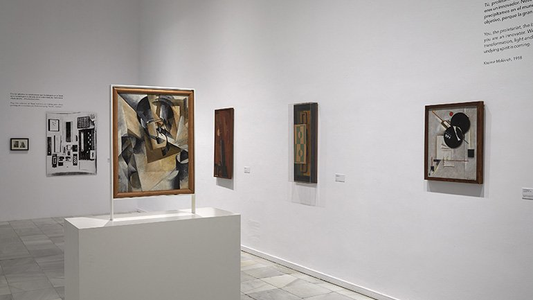 Exhibition view Russian Dada 1914–1924