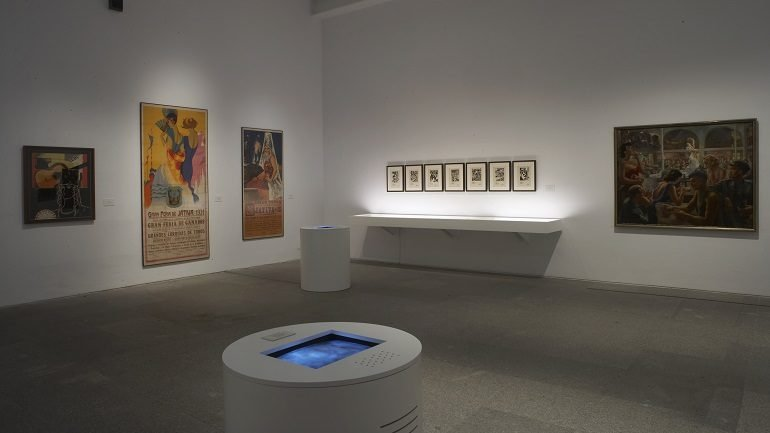 Exhibition view. The Spanish Night. Flamenco, Avant-Garde and Popular Culture 1865-1936, 2007