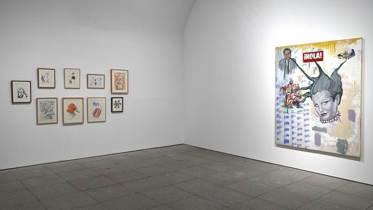 Exhibition view. Patricia Gadea. Atomic Circus, 2014