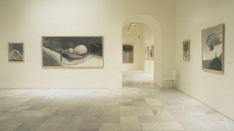 Exhibition view. Gao Xingjiang, 2002