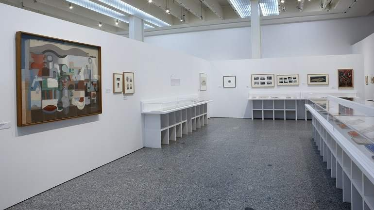 Exhibition view. A. C. The GATEPAC magazine (1931-1937), 2008
