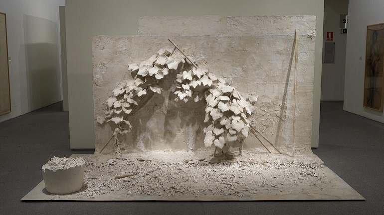 Carmen Laffón. Cepas, 2006-2007. Escultura. Colección Museo Nacional Centro de Arte Reina Sofía, Madrid