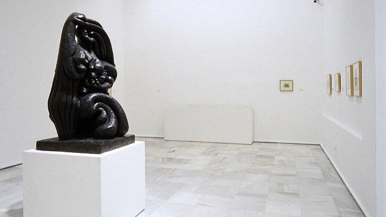 Exhibition view. Lipchitz. 1891-1973. Un mundo sorprendido en el espacio, 1997
