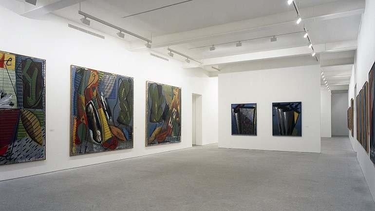 Exhibition view. Markus Lüpertz. Retrospective. 1963 – 1990, 1991
