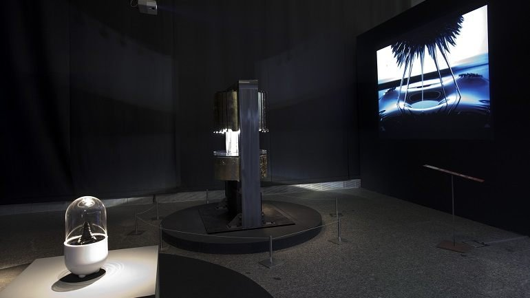 Exhibition view. Machines & Souls. Digital Art and New Media, 2008