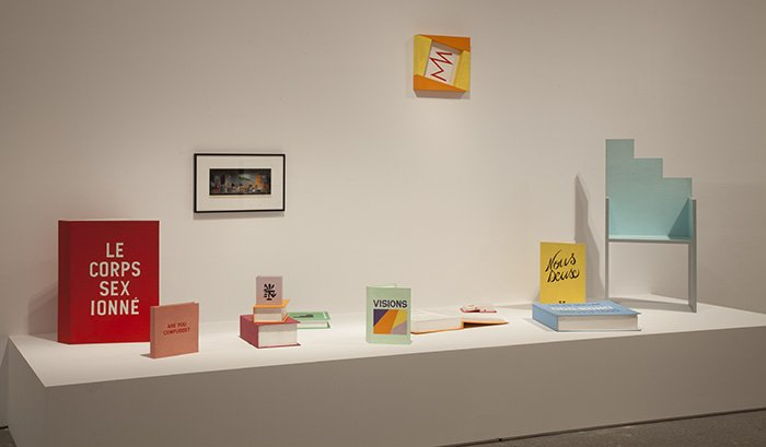 Exhibition view. Minimal Resistance. Between late modernism and globalisation: artistic practices during the 80s and 90s, 2013