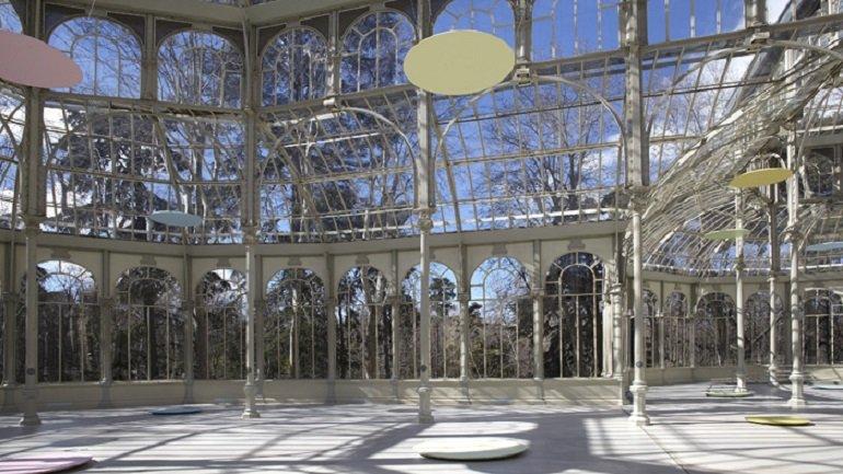 Vista de la sala de la exposición. Mitsuo Miura. Memorias imaginadas, 2013
