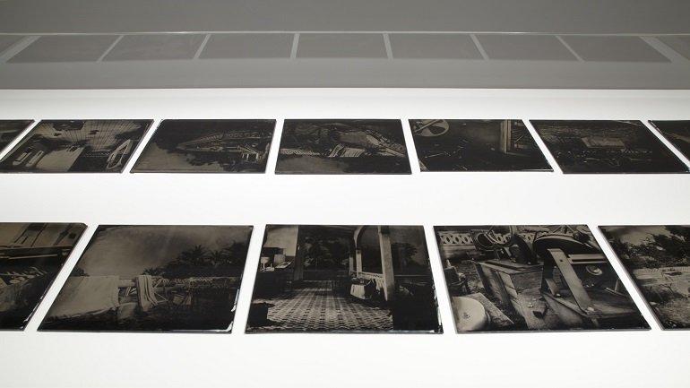 Exhibition view. Paloma Polo. Posición aparente, 2012