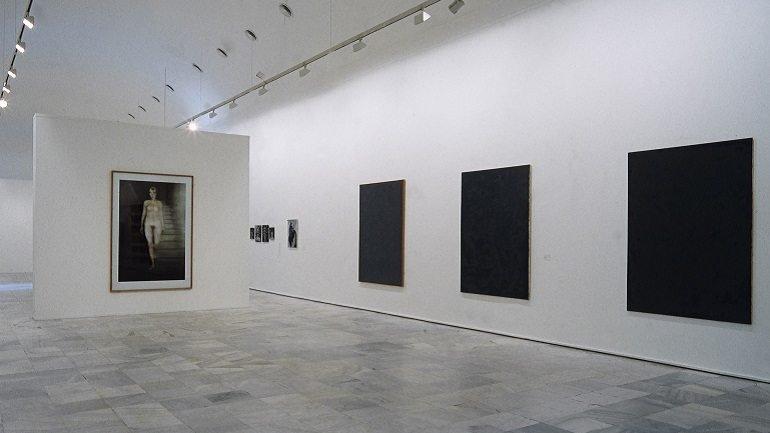 Vista de sala de la exposición. Gerhard Richter, 1994