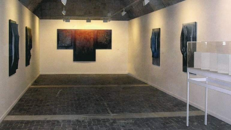 Exhibition view. Manuel Rivera en Silos, 2005