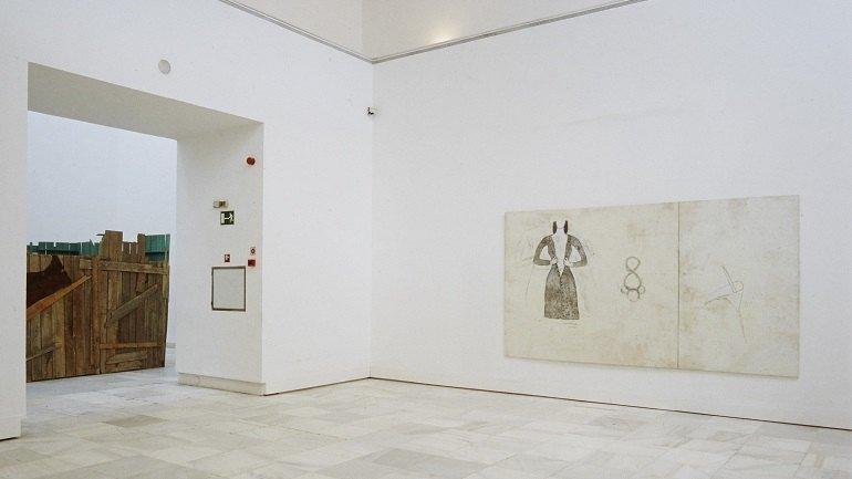 Exhibition view. Juliao Sarmento. Flashback, 1999