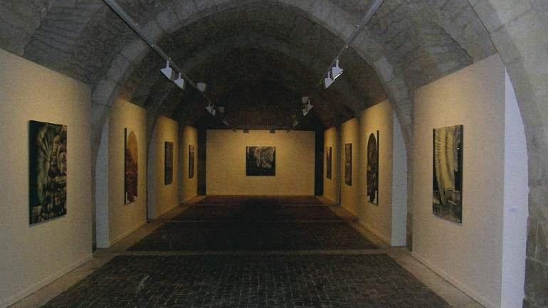 Exhibition view. Juan Carlos Savater. Estrella matutina, 2006