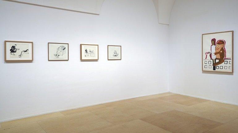 Exhibition view. Anne-Marie Schneider, 2016