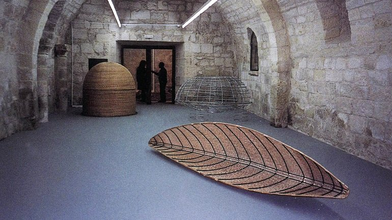 Vista de sala de la exposición. Susana Solano, 2003