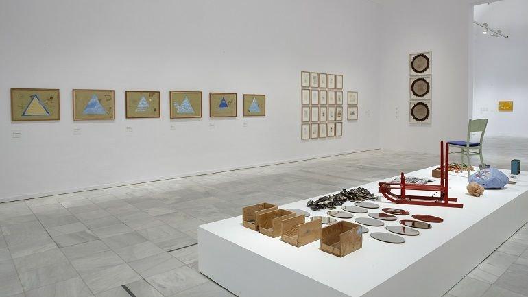 Vista de sala de la exposición. Paul Thek, 2009