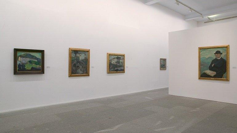 Exhibition view. Daniel Vázquez Díaz, 1882-1969, 2004
