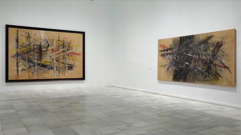 Vista de sala de la exposición Wifredo Lam, 2016
