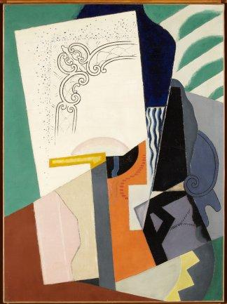 Maria Blanchard. Composición cubista, 1916