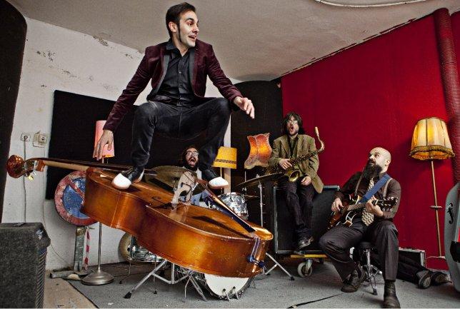 Miércoles 24 de octubre, concierto del grupo madrileño Dead Capo, banda de referencia en la escena del jazz experimental