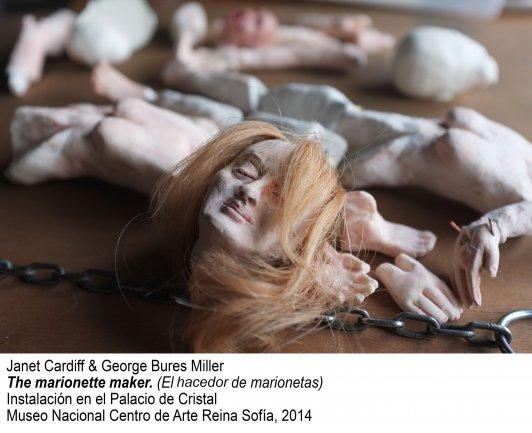 Janet Cardiff & George Bures Miller. El hacedor de marionetas Instalación en el Palacio de Cristal
