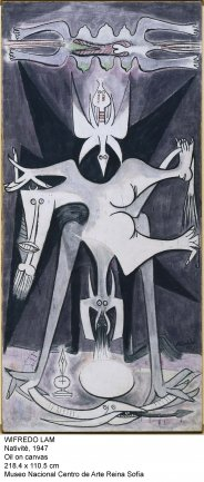 Wifredo Lam. Nativité, 1947