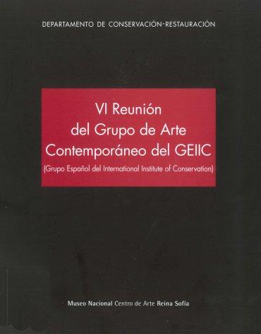 Catálogo VI Reunión del Grupo de Arte Contemporáneo del GEIIC