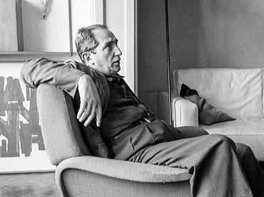 Mário Pedrosa, imagen de archivo. Fotografía, 1960