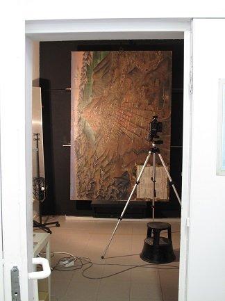 Documentación gráfica, toma de imágenes de Descripción del Cerro Rico e Imperial. Villa de Potosí
