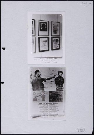 """Fotografías del """"Homenatge a Carles Rahola"""". 1976. Archivo Francesc Abad. Centro de Documentación"""