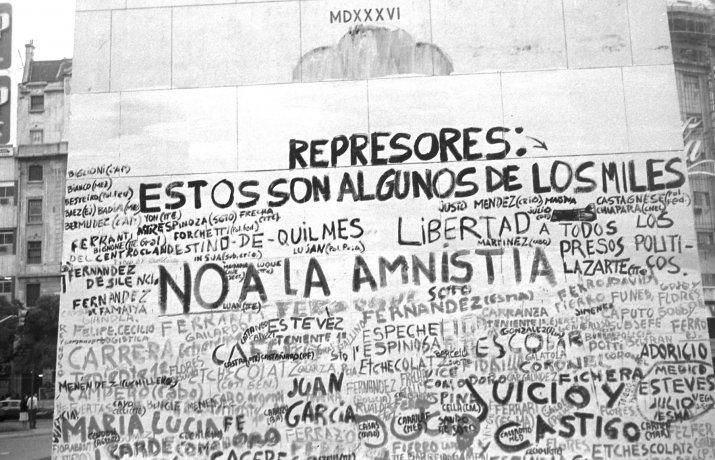 Represores. Buenos Aires (ca. 1983). Derechos Humanos // Archivo en uso