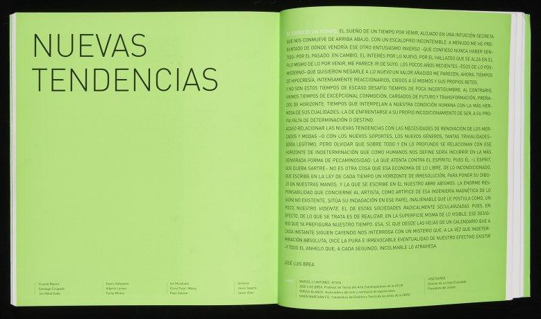 José Luis Brea. El sueño de un tiempo. En: Generación 2002 (2002). Archivo José Luis Brea. Centro de Documentación